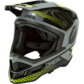 O'Neal Blade Polyacrylite Casque Delta, black/neon yellow/gray